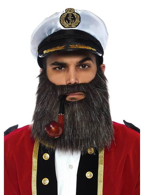 Kit de accesorios de capitán de barco par hombre