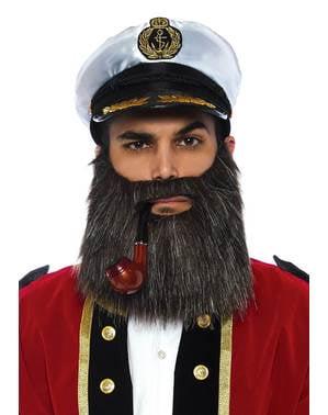 Båt kaptein tilbehørsett til menn