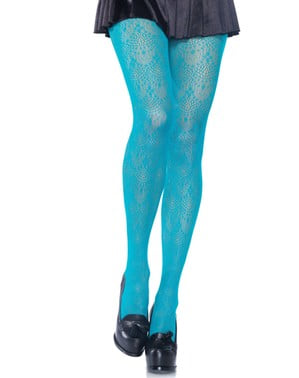 Chandelier Lace tights for women