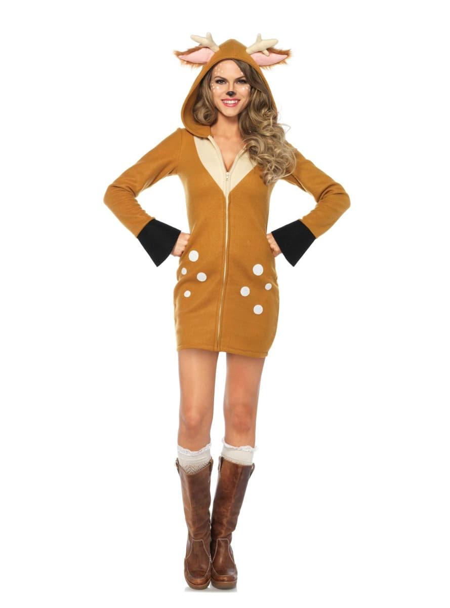Disfraz De Reno Navideno Para Mujer Talla Grande Comprar Online En - Disfraz-reno