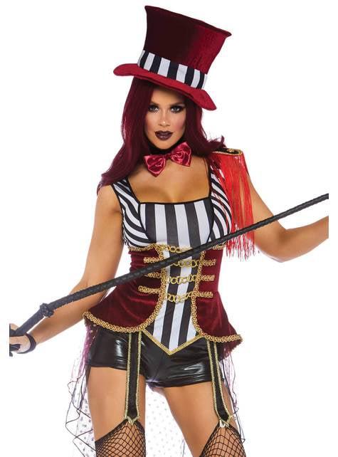 Disfraz de domadora de circo sexy para mujer