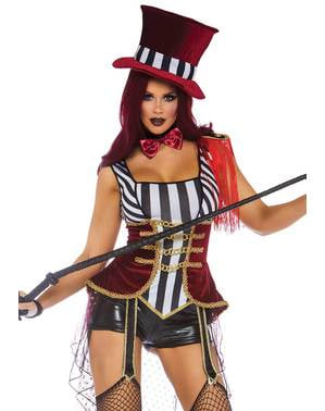 Sexy circus tamer costume for women
