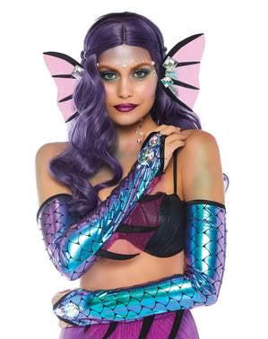 Kit accessoires sirène sombre femme