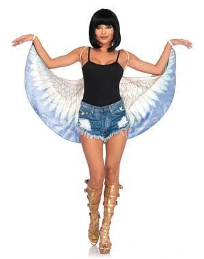 Egyptische godin vleugels voor vrouw