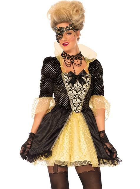 Venetsialaisten karnevaalien asu naisille
