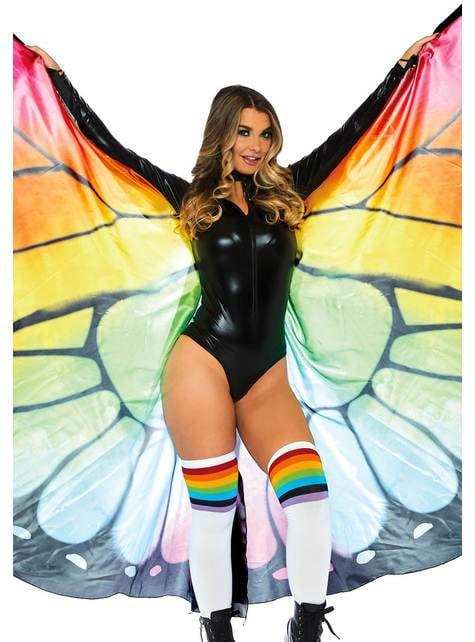 Alas de mariposa gigantes