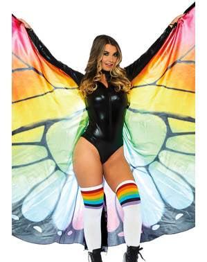 Gigantische vlinder vleugels