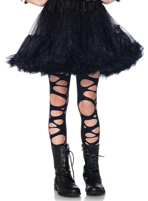 Crne čarape za djevojčice