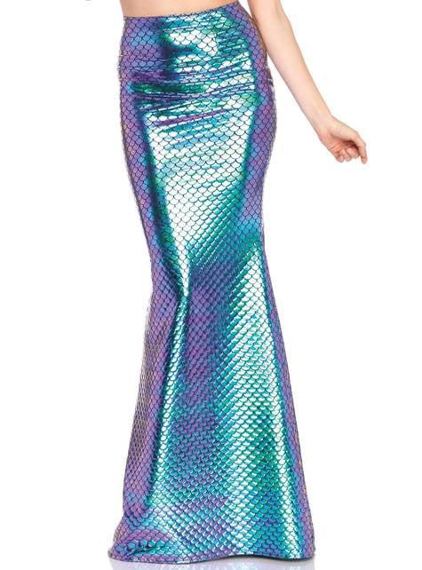 Falda de sirena para mujer