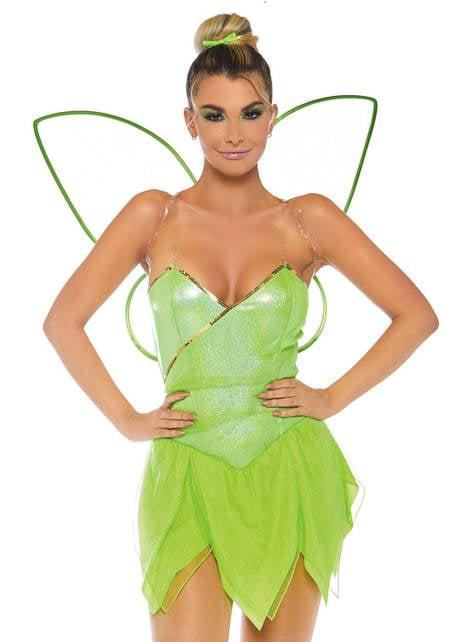 Sexy Bos Tinkerbell kostuum voor vrouw