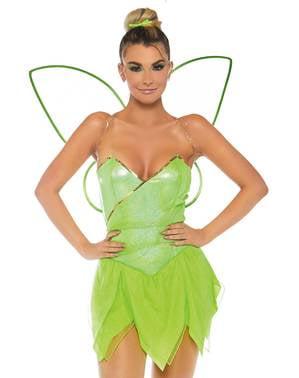 Sexy Glöckchen aus dem Wald Kostüm für Damen