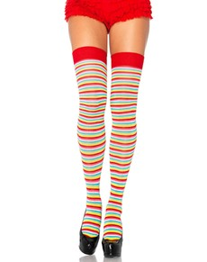 18b5a30c4 Colourful   striped tights   leggings for costumes