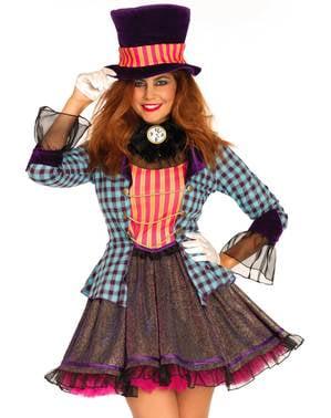 Sexy Hutmacher Kostüm für Damen