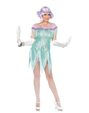 Kostum Turquoise 20 untuk wanita