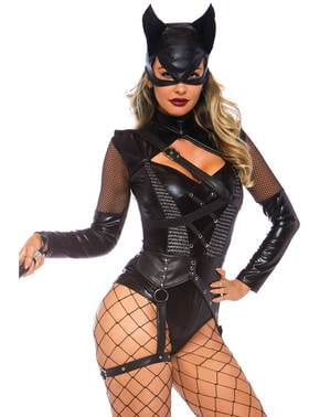 Sexy Cat villain costume for women