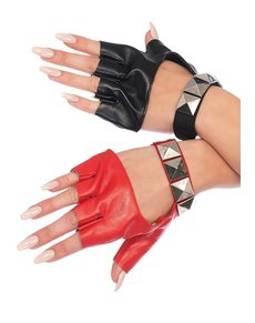 Fingerlose Harley Handschuhe für Damen