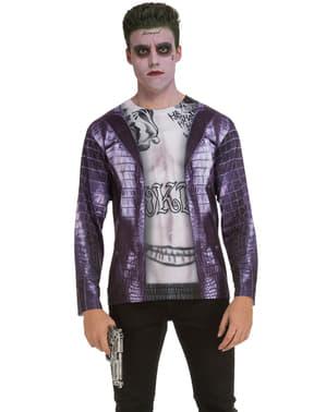 T-shirt de palhaço psicopata para homem