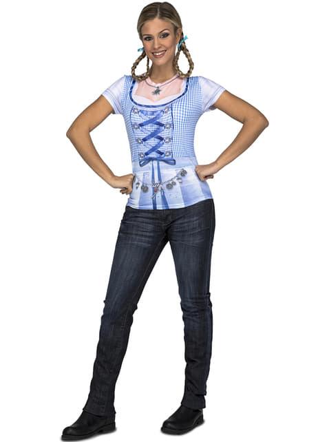 T-shirt lady Oktoberfest femme