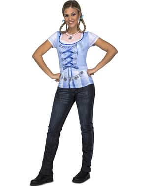 Oktoberfest-ladyn t-paita naisille