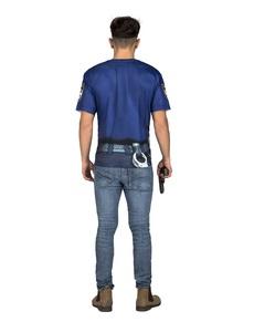 Camiseta de policía sexy para hombre