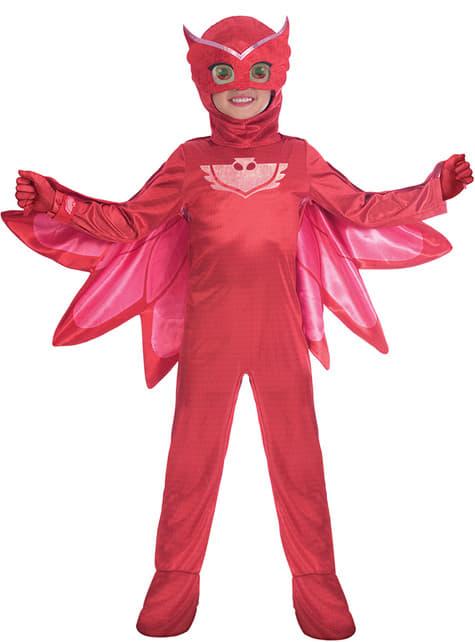 Fato de Corujinha PJ Masks deluxe para menina