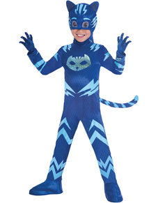c5e4bf4e5618c Deluxe Catboy costume for boys PJ Masks