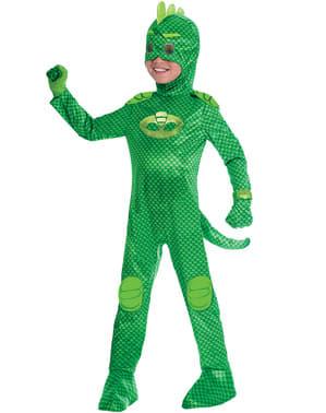 Deluxe Gekko kostuum voor jongens PJ Masks