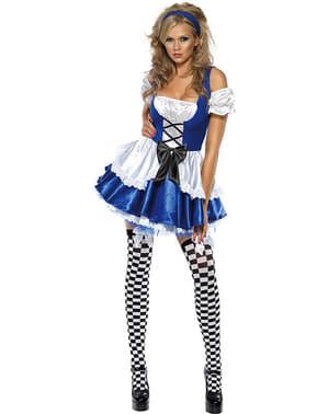 Fato de maravilhosa Alice Fever para mulher