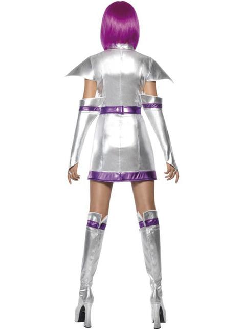 Fato de cadete do espaço Fever para mulher
