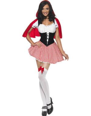 Kostým pro dospělé sladká Červená Karkulka