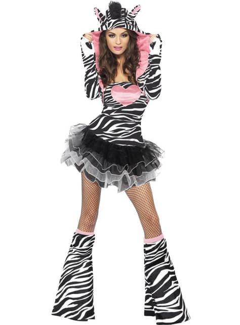 Zebra Chic felnőtt jelmez