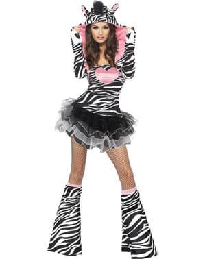 Costum de zebră fashion pentru femeie