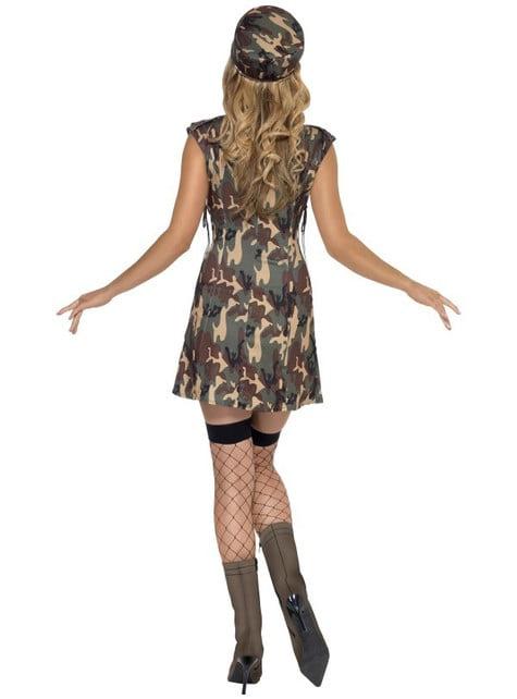 Disfraz de militar Fever para mujer - original