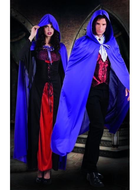 Pelerină de vampir mov pentru adult