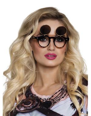 Yetişkinler için Vintage Steampunk gözlükleri