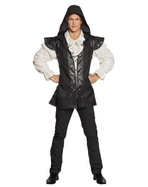 Pánský kostým středověký válečník černý