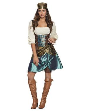 Hypnotiserend zigeuner kostuum voor vrouw