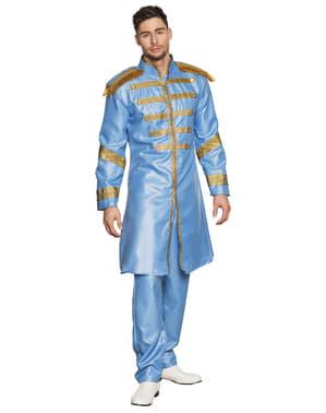 The Beatles-kostuum in blauw