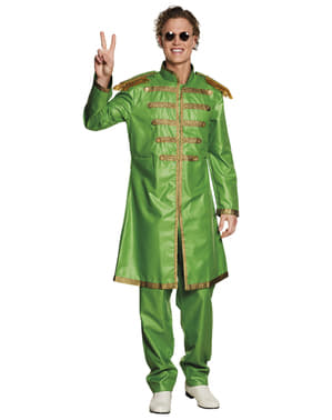 Kostým Beatles zelený
