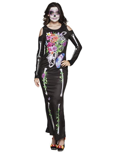 Disfraz de Catrina elegante para mujer - mujer