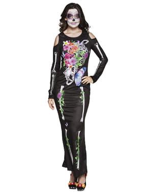 Elegant Catrina kostyme til dame