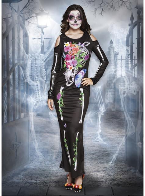 Disfraz de Catrina elegante para mujer - original