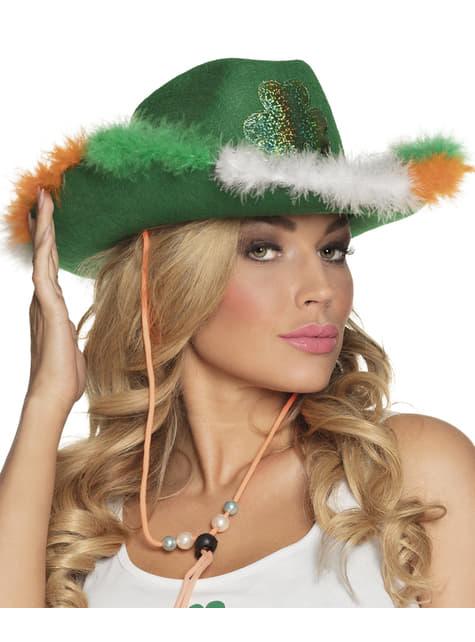 Sombrero de cowboy irlandés para adulto - para tu disfraz