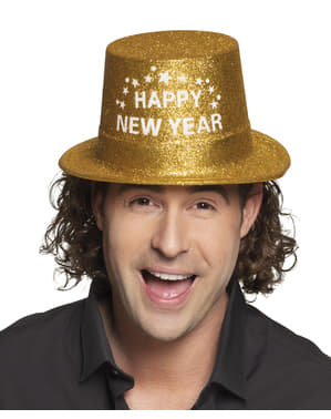 Klobouk pro dospělé Šťastný nový rok