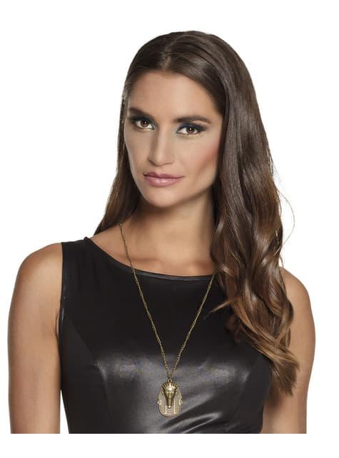 Collar egipcio dorado - para tu disfraz