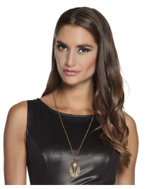 Collar egipcio dorado