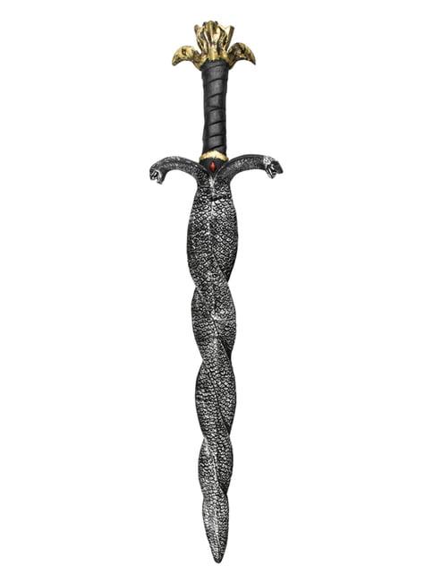Espada egipcia de serpiente doble
