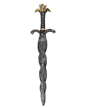 Épée égyptienne double serpent