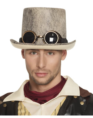 Peige Steampunk hattu aikuisille