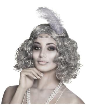 Parrucca da fantasma del charleston per donna